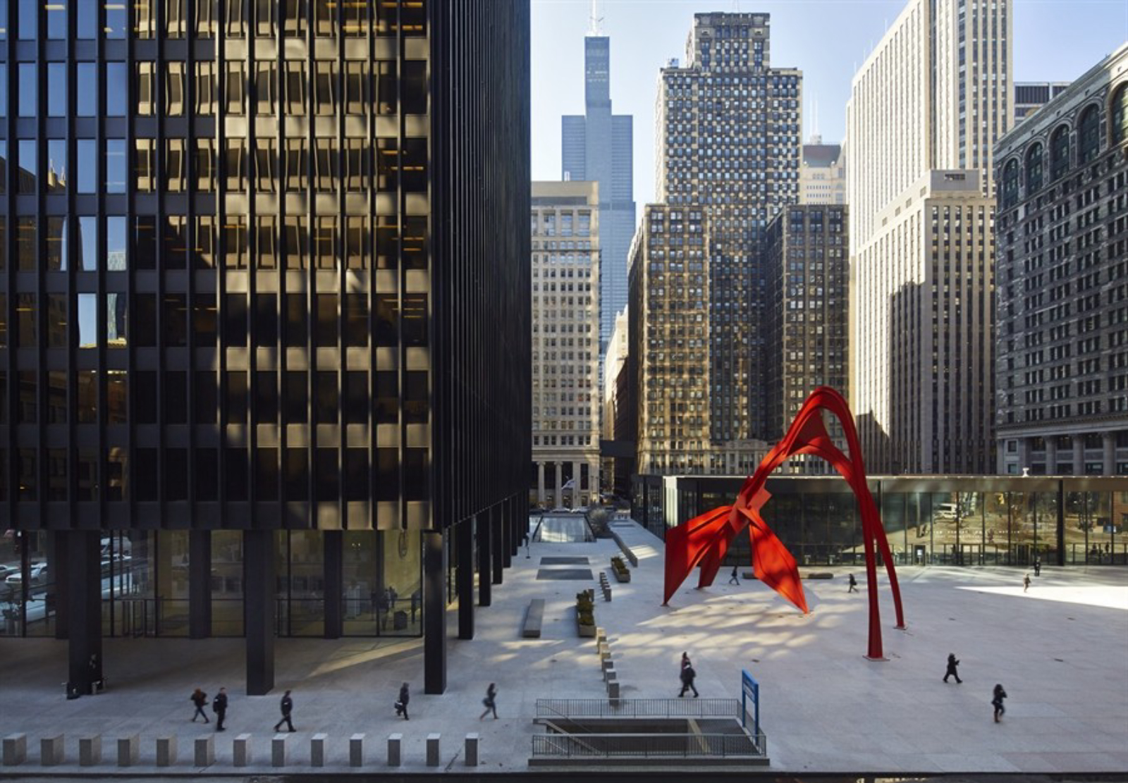 Chicago Mies Van Der Rohe Tour chicago federal center - docomomo