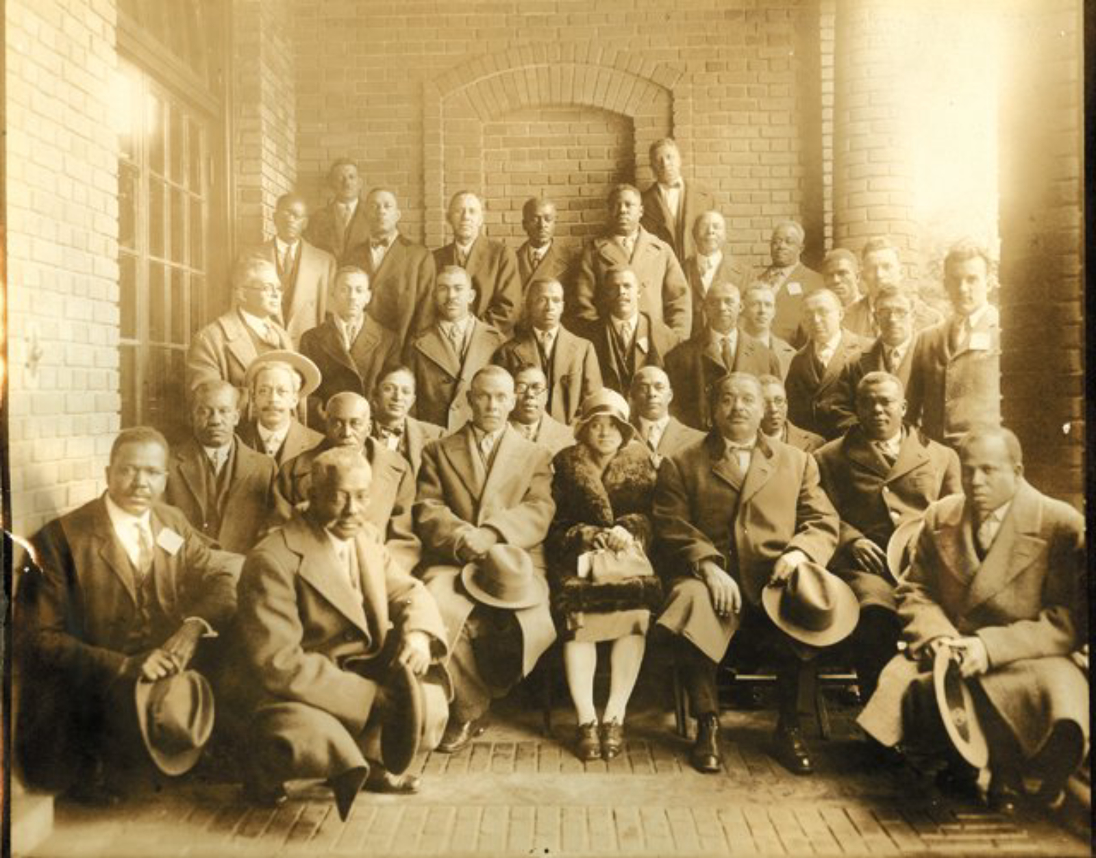ethel furman was the only woman at the 1928 Hampton Institute annual Negro Contractors' Conference